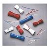 Elkay M4PAR Twist Ties, Red, 4 In, Paper, Pk 10000