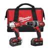 Milwaukee 2697-22 Cordless Combination Kit Voltage 18.0,  Li-Ion Number of Tools 2