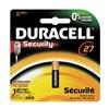 Duracell MN27BPK Battery, MN27, Alkaline, 12V