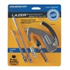 Guardair LZR6007KIT-7PC Air Gun Kit, Chrome, 120 psi, 185 scfm