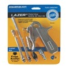 Guardair LZR6507KIT-7PC Air Gun Kit, Chrome, 120 psi, 8 scfm