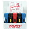 Dorcy International 41-6480 2D Plas Flashlight Dsp, Pack of 20