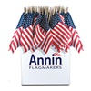 Annin Flagmakers 41294 8X12 Us Hand Flag Dsp, Pack of 48