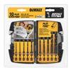 DEWALT DD5060 10PC Imp Drill Bit Set
