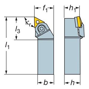 Sandvik Coromant N123H55-25A2
