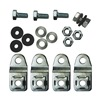 Rittal 1590000 Wallmount Kit, KL/JB, Carbon Steel