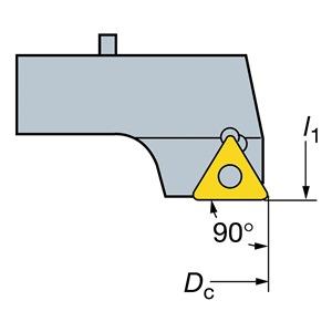 Sandvik Coromant 391.68A-6-08430T16B