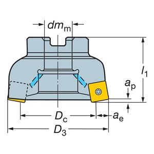Sandvik Coromant RA210-127R38-14M
