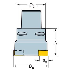Sandvik Coromant RA215-A076C6-25M