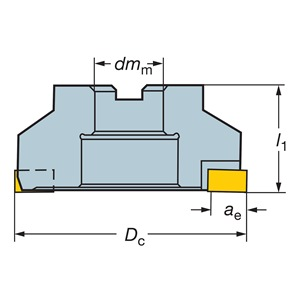 Sandvik Coromant RA215-A152R38-25M
