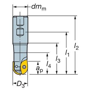 Sandvik Coromant RA216-19M25-051