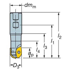 Sandvik Coromant RA216-25M25-057