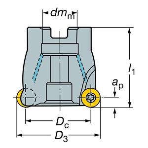 Sandvik Coromant RA300-076R25-16M