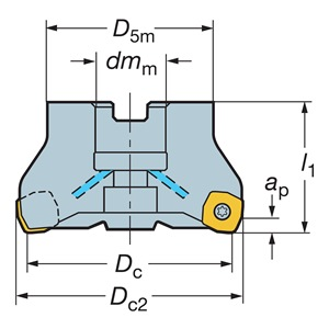 Sandvik Coromant RA365-063R19-S15H