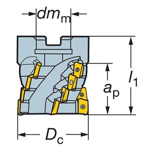 Sandvik Coromant RA390-051R19-43M