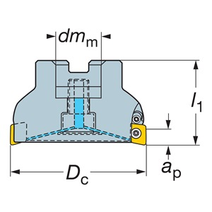 Sandvik Coromant RA590-051R19S-11M