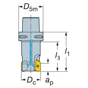 Sandvik Coromant RA790-050C5S2-22M