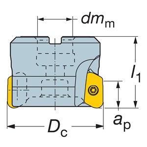 Sandvik Coromant RA790-076R25S1-22M