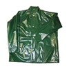 Tingley J22208.LG Rain Jacket with Hood Snaps, Green, L