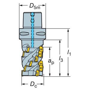 Sandvik Coromant R390-100C8-71M