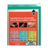 Tough Guy 5KDE6 Dspsbl Wipes, 11-4/5 In x 10-1/10 In, PK5