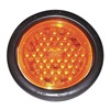Truck-Lite Co Inc 44101Y Strobe Light, LED, Amber, Round, 5-1/2 Dia