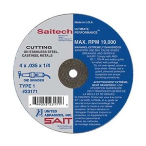 United Abrasives-Sait 23142