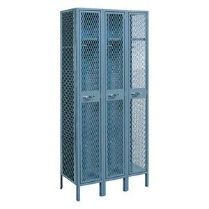 LYON Assembled Locker, 1 Tier, W 36, D 18, Gray at Sears.com