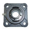 Ntn UCFU-1.11/16M Mounted Bearing, 4-Bolt Flange, 1-11/16 In
