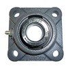 Ntn UELFU-3/4M Mounted Brg, 4-Bolt Flanged, 3/4 In