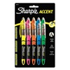 Sharpie 24575PP Highlighter, Liquid, Assorted, PK5