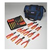 Westward 5UFT7 Insulated Tool Kit, General Purpose, 22 Pc