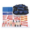 Westward 5UFT8 Insulated Tool Kit, Maintenance, 40 Pc