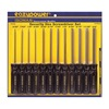 Eazypower 79724 Tamper Resistant Hex Security Screwdriver Set Butyrate,  Number of Pieces: 12