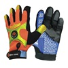 Impacto BGHIVISM Anti-Vibration Gloves, M, Black/ Orange, PR