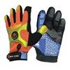 Impacto BGHIVISXL Anti-Vibration Gloves, XL, Black/Orange, PR