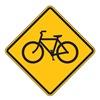 Zing 2394 Traffic Sign, 24 x 24In, BK/YEL, SYM, W11-1