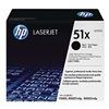 Hewlett Packard 51X (Q7551X) Toner, HP, LJ P3005, M3027, Blk