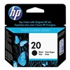 Hewlett Packard 20 (C6614D) Ink Cart, HP, Fax, Deskjet, Blk