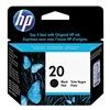 Hewlett Packard 20 (C6614D) Ink Cart, HP, Fax, Deskjet, Blk