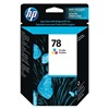Hewlett Packard HEWC6578DN140 Ink Cart, HP, Fax, Desk, Office, Tricolor