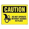 Stranco Inc OSL-805-10PK Label, Instruction, 3-1/2 In. H, PK 10