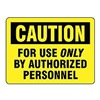Stranco Inc OSL-812-10PK Label, Instruction, 3-1/2 In. H, PK 10
