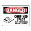 Stranco Inc OSL-825-10PK Label, Information, 3-1/2 In. H, PK 10