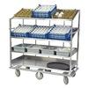 Lakeside B588 Soiled Dish Cart, L 37-3/4xW 30-7/8 In