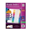 Avery 11127 Index Tab Set, Monthly, 12 Tabs, Multicolor