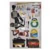 Approved Vendor 7HZ48 Milwaukee Sat Install Kit, Large