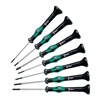 Wera 5345271001 Precision Driver Set, Slot/Phillips, 7pcs
