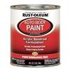 Rust-Oleum 253502 Auto Body Paint, Perm. Red, 1 Qt.