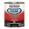 Rust-Oleum 253521 Auto Body Paint, Metallic Clear, 1 Qt.